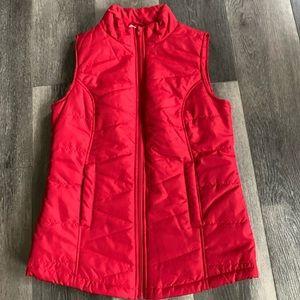 Red Camel Zip-Up Vest